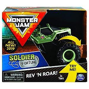 Spin Master Monster Jam 6044990 vehículo de Juguete - Vehículos de Juguete (Colores Surtidos, Coche, 3 año(s), Niño/niña, 1:43, Vietnam)