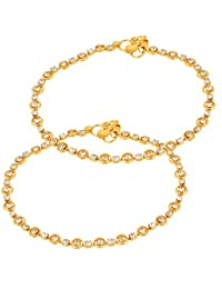 Charms Anklet for Women (Golden)(cr0208)