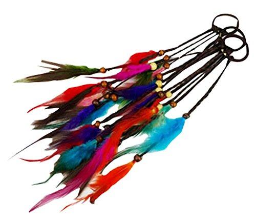bohemia-coiffure-braid-cheveux-adorables-plume-cheveux-cercle-perruques-cheveux-tresses-corde