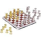 Gazechimp Minature Chess échecs Ornement Art Déco Jouet pr 1/12 Maison de Poupée Bureau