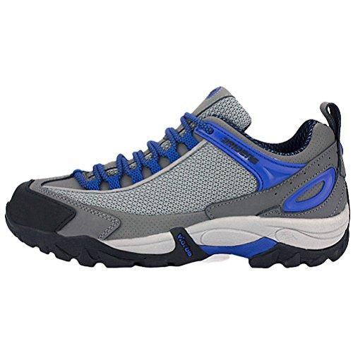 matchlife Chaussures de trekking randonnée Ressort neuves pour hommes - Blue-Style2