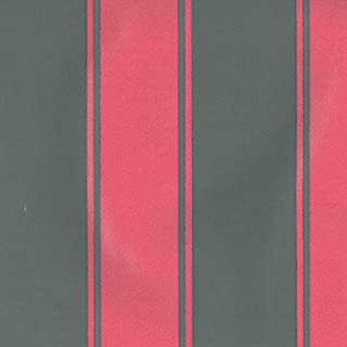 Dutch Wallcoverings 7204-6 Stripe Wallpaper - Pink/Grey