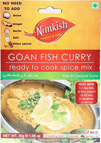 Nimkish Goan Fish Curry Masala, 30g