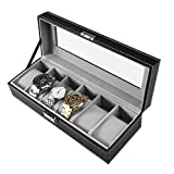 Best Looking Watches - PIXNOR Watch Display Box Case with Soft Cushions Review
