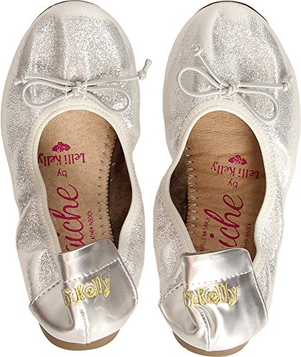 Lelli Kelly Argento Scarpa Bambino Sneakers 5112