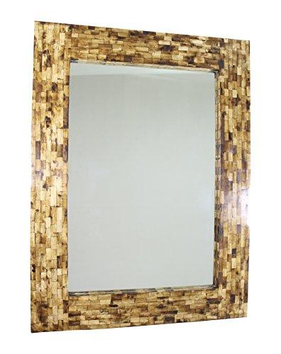Garca-Requejo-Hungary-Espejo-decorativo-para-la-pared-con-marco-de-hueso-color-dorado