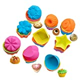 Stampo in silicone per muffin e tortine, cod. art. 1020. Muffin-36 Multi