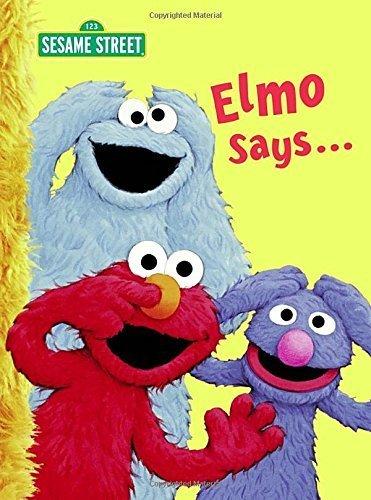 Elmo Says... (Sesame Street) (Big Bird's Favorites Board Books) by Sarah Albee (2009-05-26)