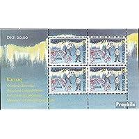 Prophila sellos para coleccionistas: Dinamarca-Groenlandia Bloque 12 (completa.edición.) nuevo con goma original 1997 Cultura