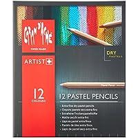 Caran D'Ache 12 Lápices De Colores Pastel *
