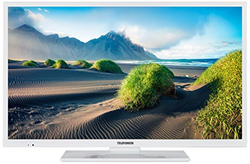 Telefunken XF32D401D-W 81 cm (32 Zoll) Fernseher (Full HD, Smart TV, Triple Tuner, DVD Player) (32-zoll-hdtv Mit Dvd-player)