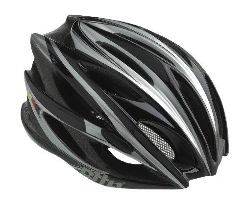 Etto Fahrradhelm Sempione, black matt / silver, 54-57, 339103