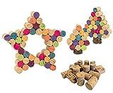 Unbekannt Korken zum Basteln - Kinder Kindergarten Kinderkrippe Bastelmaterial Material Bastelkorken Kork