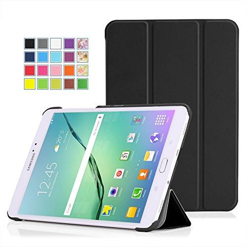 MoKo Samsung Galaxy Tab S2 8.0 Hülle - Ultra Slim PU Leder Tasche Schutzhülle Schale Smart Case mit Auto Sleep / Wake up Funktion und Standfunktion für Galaxy Tab S2 8.0