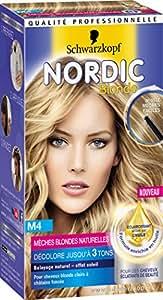 Schwarzkopf Nordic Blonde Coloration Permanente M4 Mèches Naturelles