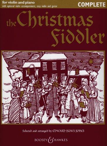 Christmas Fiddler. Violine, Klavier, Gitarre