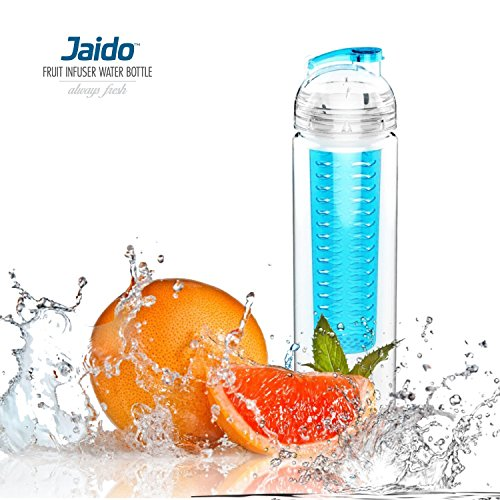 fruit-infuser-bottle-900ml-plus-free-water-infused-recipes-ebook-great-for-gym-office-yoga-travel-ho