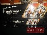 Camion Truck Franziskaner Weissbier Modellino Pubblicitari DIE CAST 1:87 MODEL