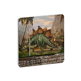 Interrupteur Fantaisie Dinosaure Stegosaure