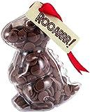 """Dinosaur - """"Rooarrr!"""" Milk Chocolate Buttons T-Rex Dinosaur. From the Belgian Milk Chocolate 'Button-its' range."""