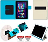reboon Hülle für HP Omni 10 Tasche Cover Case Bumper | in Beige | Testsieger
