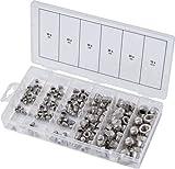 KS Tools 970.0460 Assortiment de 150 Ecrous borgnes en Inox