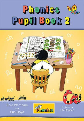 Jolly Phonics Pupil Book 2 (colour edition): in Precursive Letters (BE) (Jolly Learning)