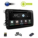 GPS GPS Navigation Touchscreen Android 6.0Doppel DIN Autoradio VW Auto DVD GPS AM FM RDS Radio Audio Universal Head Unit