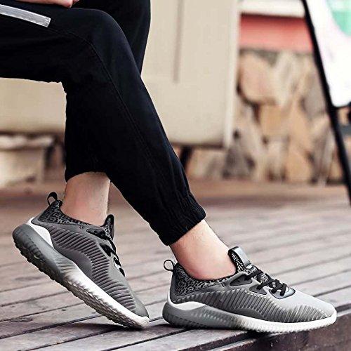 ZXCV Scarpe all'aperto Gli uomini che corrono gli addestratori atletici che camminano le scarpe della palestra corrono B