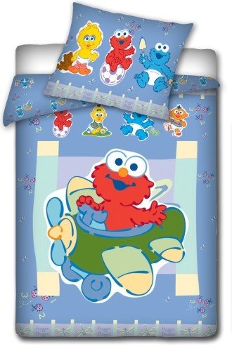 biancheria-da-letto-per-bambini-sesamstrasse-biancheria-da-letto-100-x-135-cm-elmo
