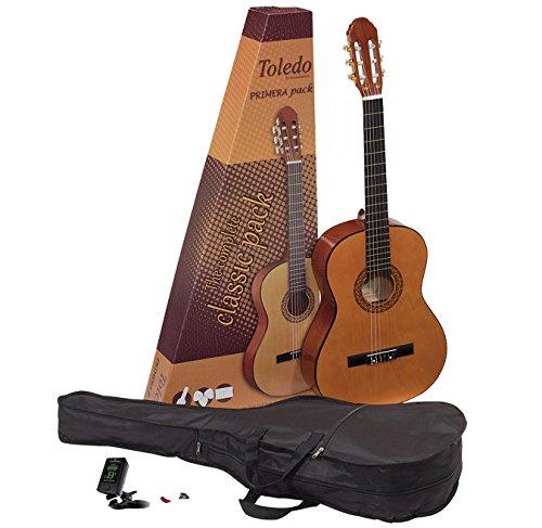 Toledo gp-44nt Pack di chitarra spagnola