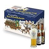 Bavariashop Bier Adventskalender, Weihnachtliche Geschenkidee 2019, exklusives Verkostungsglas inklusive