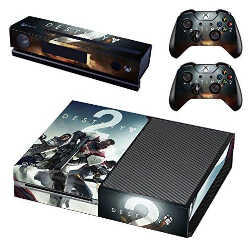 Destiny 2 Xbox One Skin Sticker Vinyl Aufkleber Schutzfolie zum Konsole & 2 Controller NEU