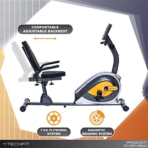 Zoom IMG-1 techfit r400 cyclette orizzontale recumbent