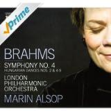 Brahms: Symphony No. 4 / Hungarian Dances Nos. 2, 4-9 (Orch. Breiner)