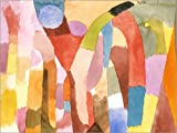 Posterlounge Cuadro Sobre Lienzo 120 x 90 cm: Movement of The Vault de Paul Klee - Cuadro Terminado, Cuadro Sobre Bastidor, lámina terminada Sobre Lienzo auténtico, impresión en Lienzo