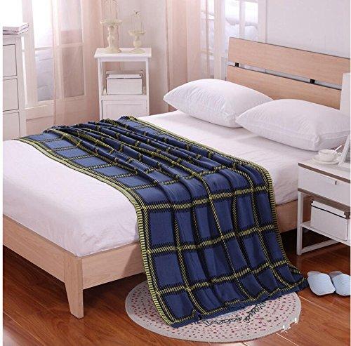 HDZLL Sofa-Teppich NAP Wolle Decken/Teppiche/Wandteppiche/Teppich/Klimaanlage/Baumwolle Decke stricken -