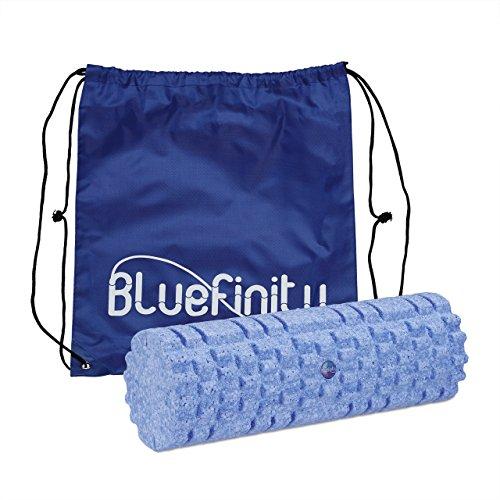Bluefinity 10020560, Rullo per Massaggio Unisex - Adulto, Azzurro, S