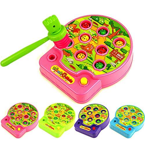 Toyvian Kinder Hammer Bang Strike Spiel Whack A Mole Pädagogischer Spaß Musik Spielzeug Geschenk Zufällige Farbe (20-pfund-hammer)
