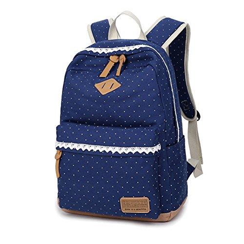 Prime Day Deal Schulrucksack Kinderrucksack für Mädchen, Leinwand Mädchen Schulranzen Schultasche, Daypacks...