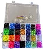 Glow2B Spielwaren 5620083 - Loom's  Box bunt, sortiert, 5600 Stück
