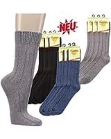 Warme Socken mit Bambus im 3er Pack