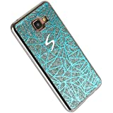 Pheant® Samsung Galaxy A3 (Version 2016) SM-A310 Coque Gel Étui Brillante Housse Cas étui de Protection en TPU Souple Silicone Bleu