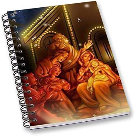 RADANYA Cahier Multicolore Joyeux Noël Imprimé Numériquement Fil Relié Feuille De Papier A5 Feuille Journal Intime École Ou Bureau Stationnaire | Vente