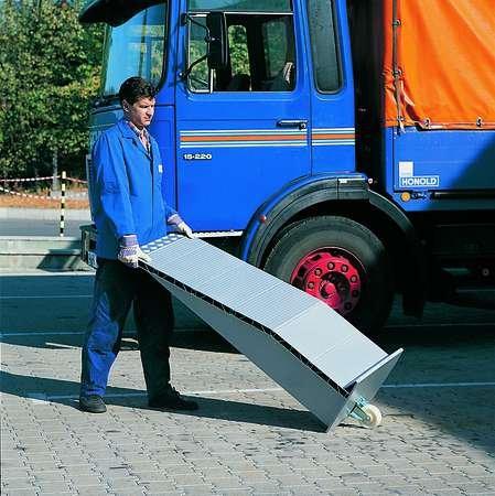 Preisvergleich Produktbild Auffahrkeile,  Tragkraft 12.000 kg / Paar,  LxBxH 144x50x19 cm