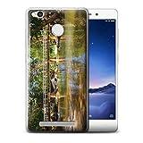 Stuff4® Custodia/Cover/Caso/Cassa Gel/TPU/Prottetiva Stampata con Il Disegno Thailandia Paesaggio per Xiaomi Redmi 3S - Passerella