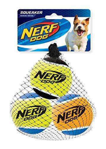 Nerf Dog Squeak Tennis Balls: 6,4 cm -