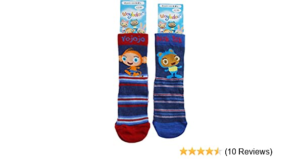 2 Pairs Socks Nok Tok Waybuloo Girls Boys Lau Lau and De Li Yo Jo Jo