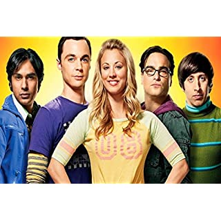 Da Bang 33101 Film-Poster mit Kaley Cuoco Kunal Nayyar Physiker Serie Sheldon Cooper The Big Theory 24x36 Mehrfarbig