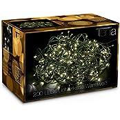 Tenia 8215002812, Tenia 200 LED Fairy Lights WarmWhite In-/Outdoors 20m Christmas Garden Lights (Home & Garden)